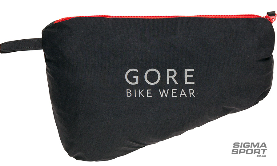 Gore Bike Wear Rescue Jacket packed