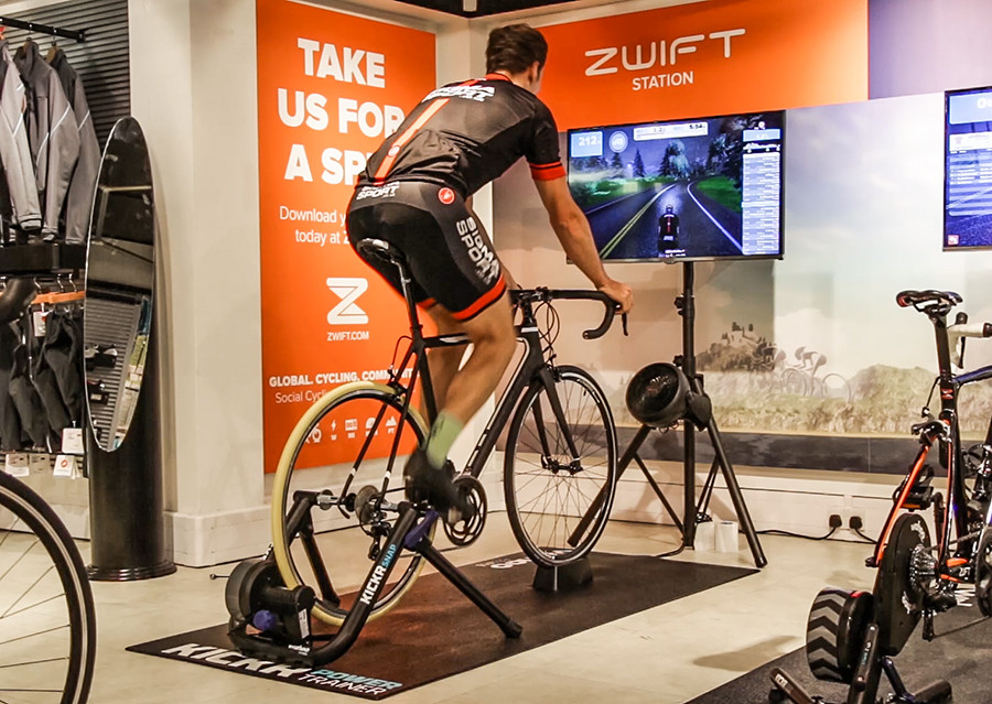 Wahoo Kickr Snap Review Zwift Demo Centre