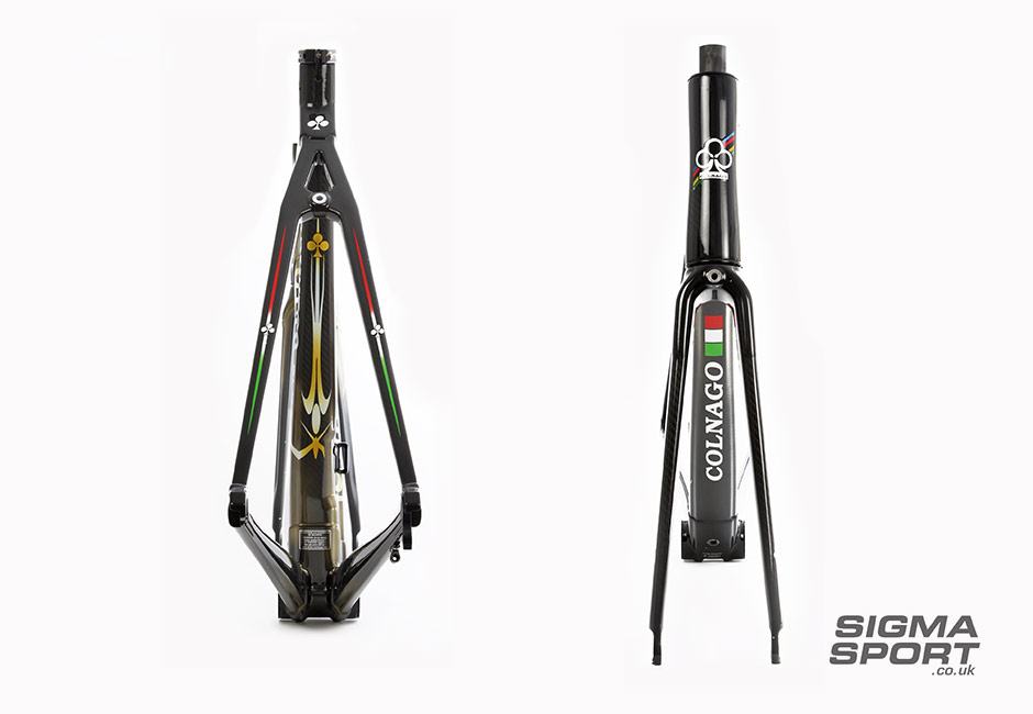 Colnago C60 front and rear