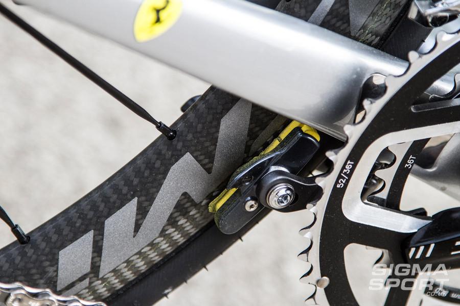 Colnago V1-R Review Brake