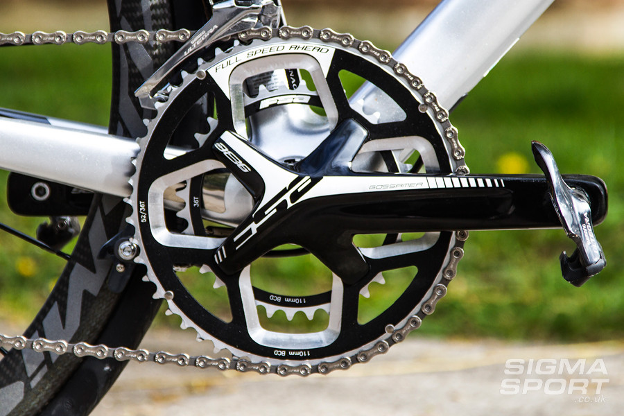 Colnago V1-R Review Chainset