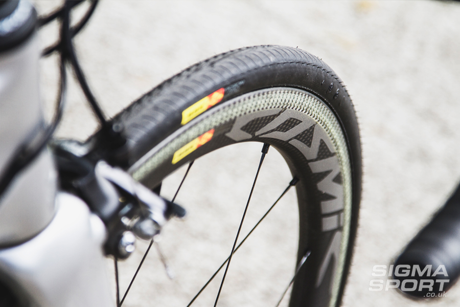 Colnago V1-R Review Wheel