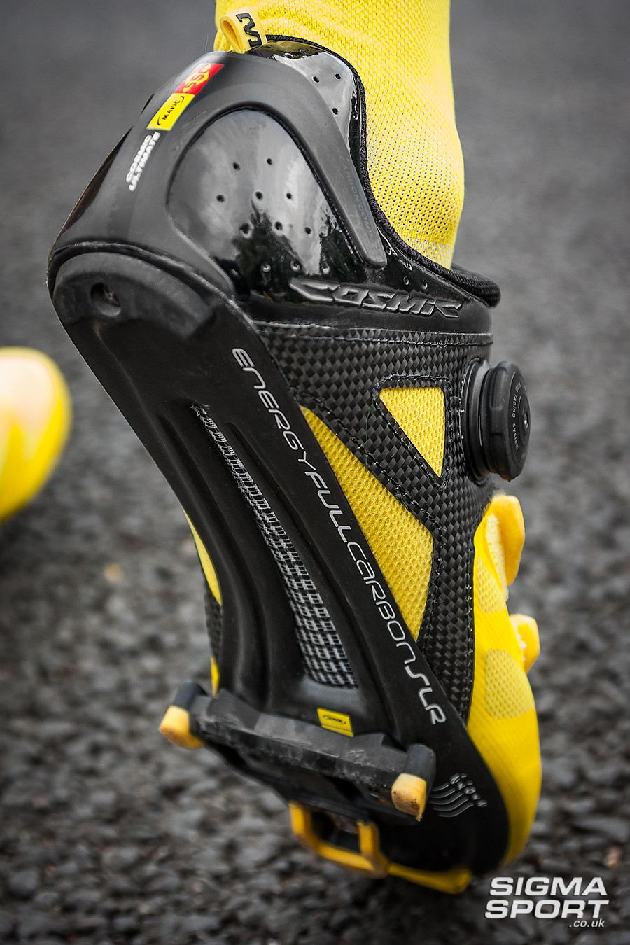 Mavic Cosmic Ultimate Shoe Review Sole