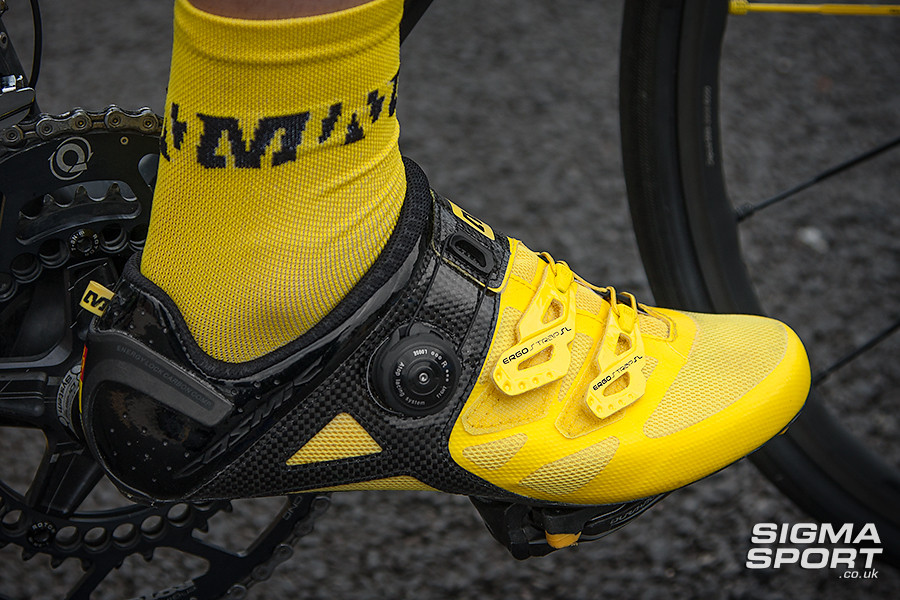 Mavic Cosmic Ultimate Shoe Review Side
