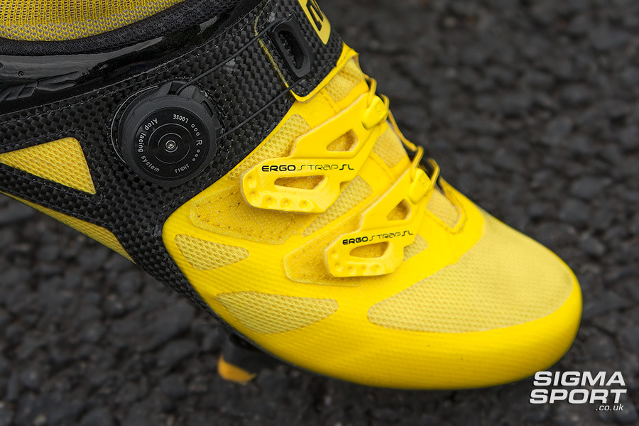 Mavic Cosmic Ultimate Shoe Review Straps Detail