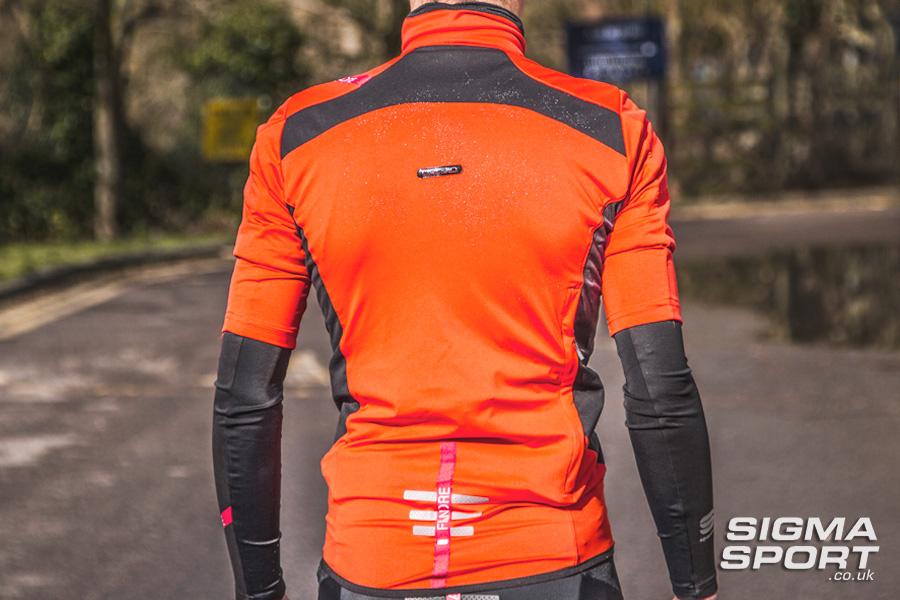 Sportful Fiandre Light NoRain Short Sleeve Jersey Back
