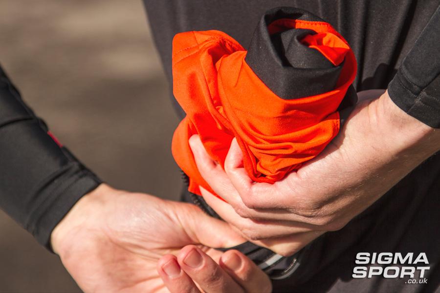 Sportful Fiandre Light NoRain Short Sleeve Jersey Folded