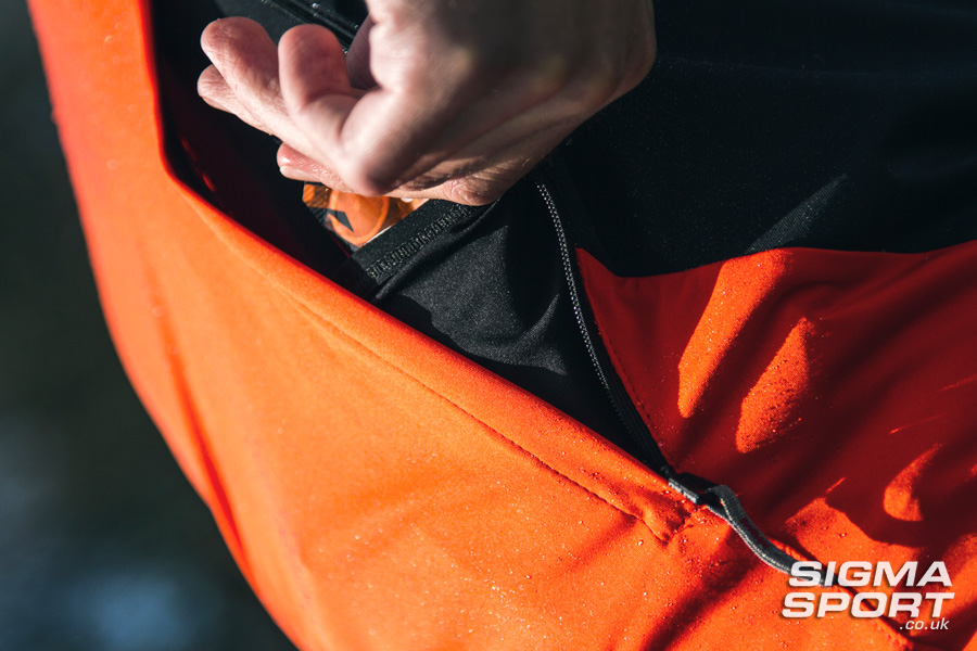Sportful Fiandre Light NoRain Short Sleeve Jersey Zippered Opening