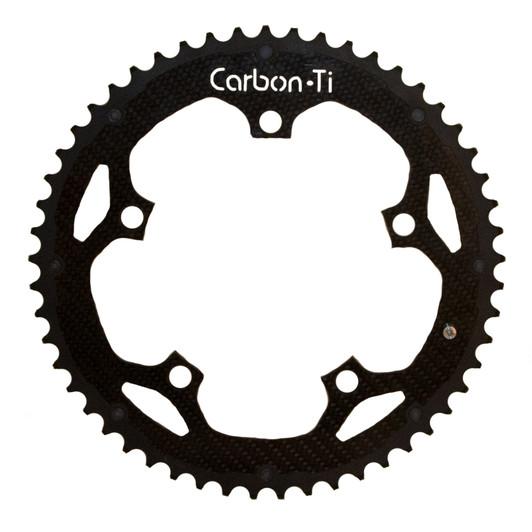 Carbon-Ti Carbon Fibre Outer Chainring 53T 130 BCD