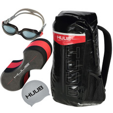 Huub Swimming Accessory Bundle Black Goggles