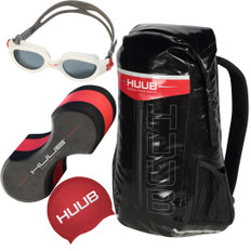 Huub Swimming Accessory Bundle White Goggles