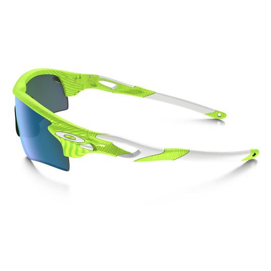 Oakley Radarlock Retina Burn Fingerprint Sunglasses Jade Iridium Lens