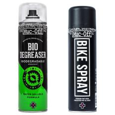 Muc-Off Biodegradable De-Greaser 500ml and Bike Spray 500ml Bundle