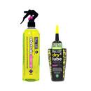 Muc-Off Bio Drivetrain Cleaner 500ml And Bio Dry Lube 120ml Bundle