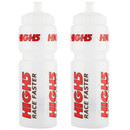 High5 Clear Water Bottle 750ml Bundle (2 Bottles)