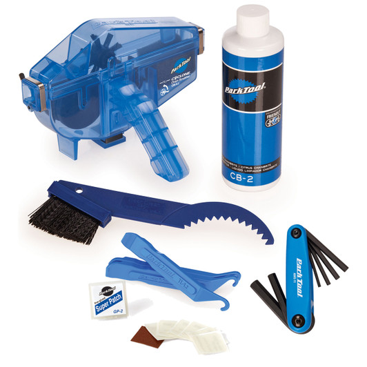 Park Tool First Bike Bundle With Hex Set, Chain Cleaner And Tyre Kit