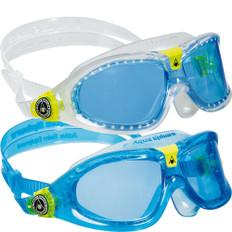 Aqua Sphere Seal 2 Blue Lens Kids Swimming Goggles