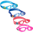 Aqua Sphere Moby Clear Lens Kids Swimming Goggles