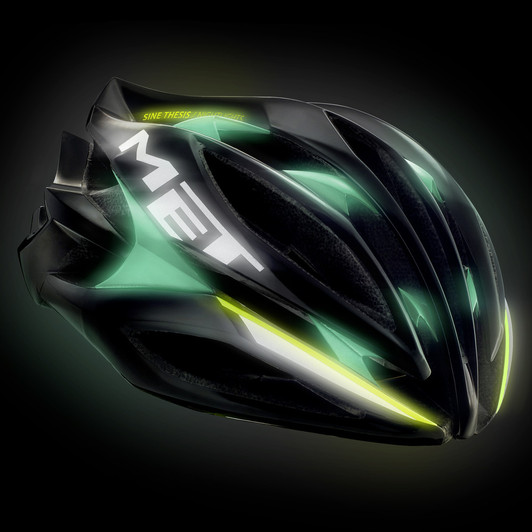 sine thesis helmet Nightlights concept for ultra high visibility discover more: www met-helmetscom/sine-thesis.