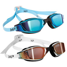 Aqua Sphere Michael Phelps Xero Goggle with Titanium Mirrored Lenses