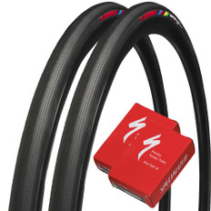 Specialized S-Works Turbo Tyre with Presta Valve Turbo Inner Tubes