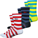 DeFeet Aireator 5 Stripers Socks