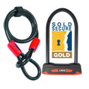 Abus Granit 53 And Cobra Cable Lock Combination Pack