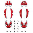 Sidi SRS Carbon Ground Inserts Treadplates (Red)