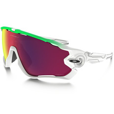 Oakley Jawbreaker Green Fade Edition Sunglasses PRIZM Road Lens