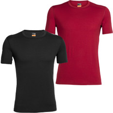Icebreaker Oasis Short Sleeve Crewe Neck Base Layer
