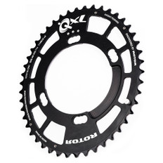 Rotor QXL Outer Chainring 110BCD 4 Bolt 46T Shimano