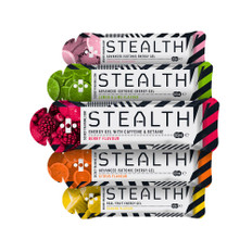 Secret Training Stealth Energy Gel Selection Box of 14 x 60ml