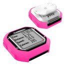 Tuff-Luv Silicone Case Cover For Garmin Edge 20/25 + Screen Protector