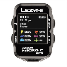 Lezyne Micro Colour Navigate GPS Loaded Bundle Cycle Computer 2017