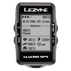 Lezyne Macro GPS Navigate Loaded Bundle Cycle Computer 2017