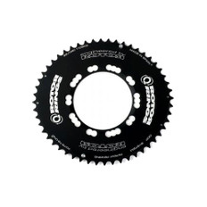 Rotor Q Ring Outer Aero Chainring 110BCD 5 Bolt
