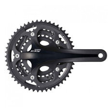 Shimano 105 5700 10-Speed Triple Chainset (Black) 50-39-30