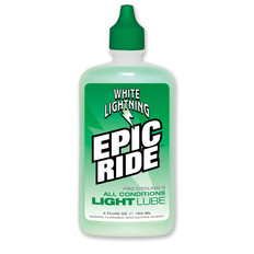 White Lightning Epic Ride All Condition Lubricant 120ml