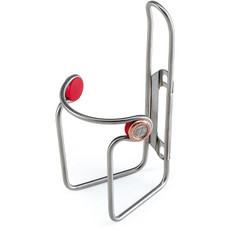 Elite Ciussi Inox bottle Cage - Stainless Steel