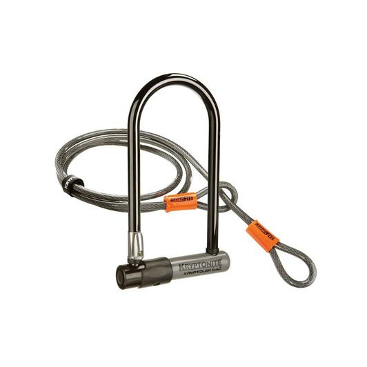Kryptonite Series 2 Std U-Lock With 4 Foot Kryptoflex Cable