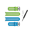 Garmin Forerunner 910XT Accessory Bands (Blue And Green)