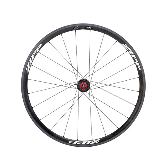 Zipp 202 Tubular Rear 24 Spokes 10/11 Speed Black Decal 2015