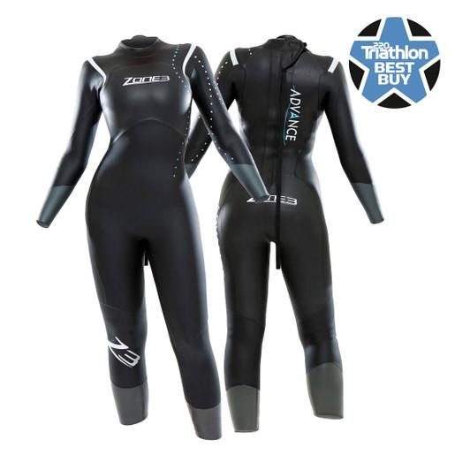 Zone3 Advance Womens Wetsuit 2015