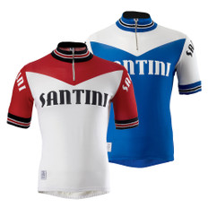 Santini Tech Wool Short Sleeve Jersey