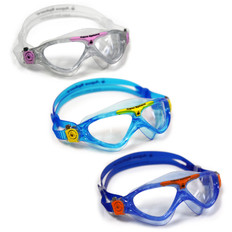 Aqua Sphere Vista Clear Lens Junior Swimming Goggles