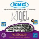 KMC X10-EL Chain Silver 114L