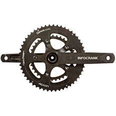 Verve Cycling InfoCrank 110 BCD 30mm Including Praxis M30 BB and 50/34