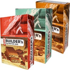 Clif Bar Builders Bar Box of 12 x 68g Bars