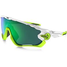 Oakley Jawbreaker Sunglasses White Iridium