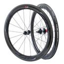 Zipp 404 FireStrike Carbon Clincher Wheelset Impress Black